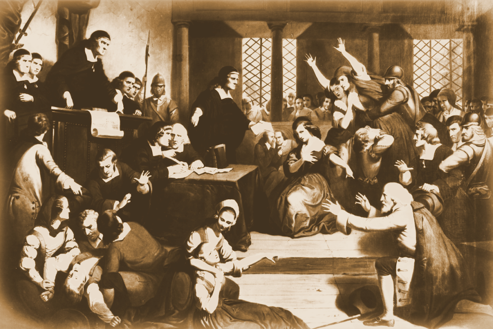 A reconstruction of George Jacobs' trial.