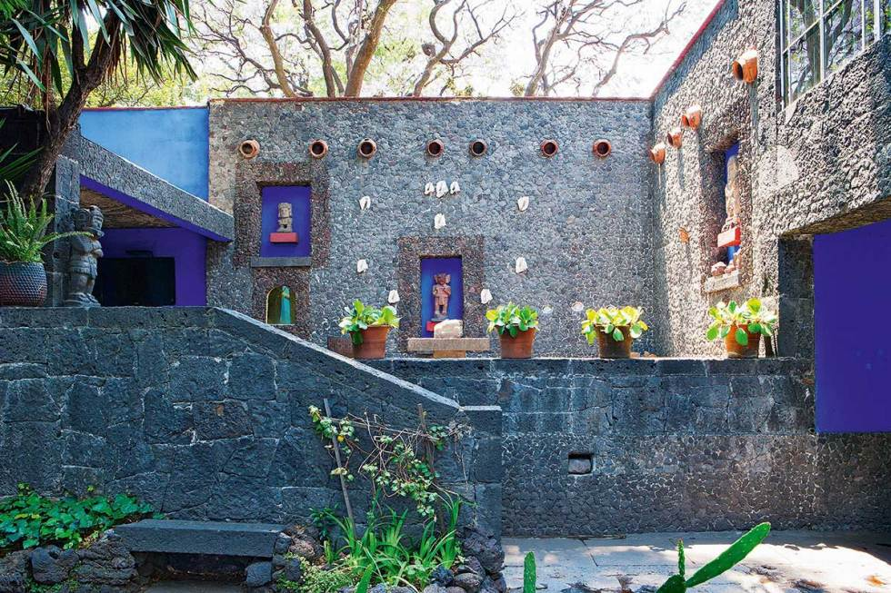 The Blue House – Frida Kahlo Museum, Mexico City, Mexico