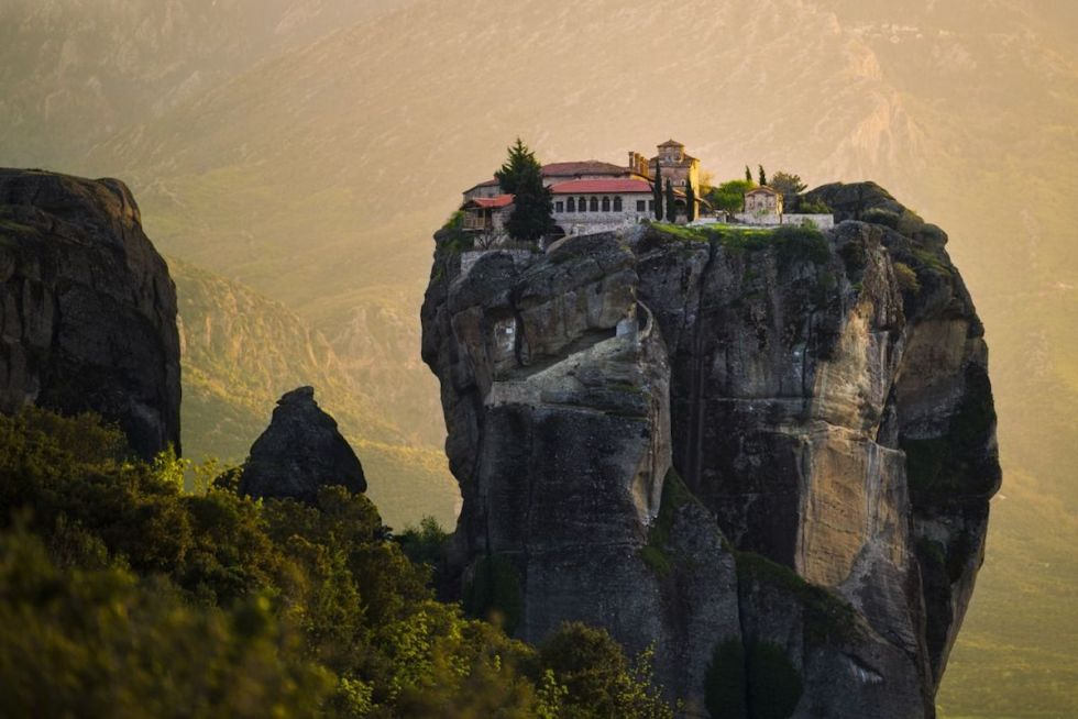 Monastery of Holy Trinity, Meteora, Greece