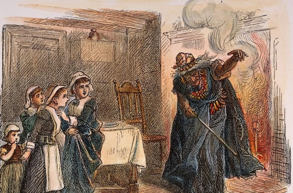 Tituba and the Children.
