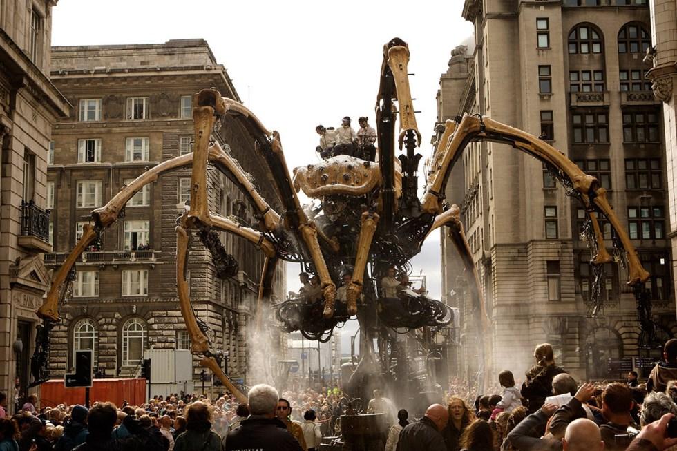 La Machine, spider