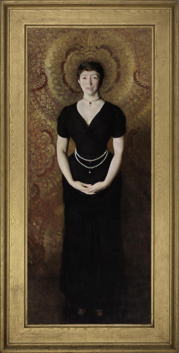 Portrait of Isabella Stewart Gardner painted by John Singer Sargent in 1888.