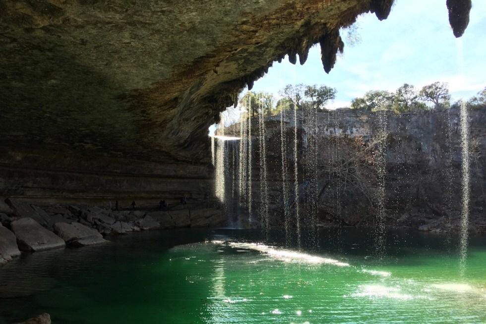 Hamilton Pool Preserve in Austin, Texas.