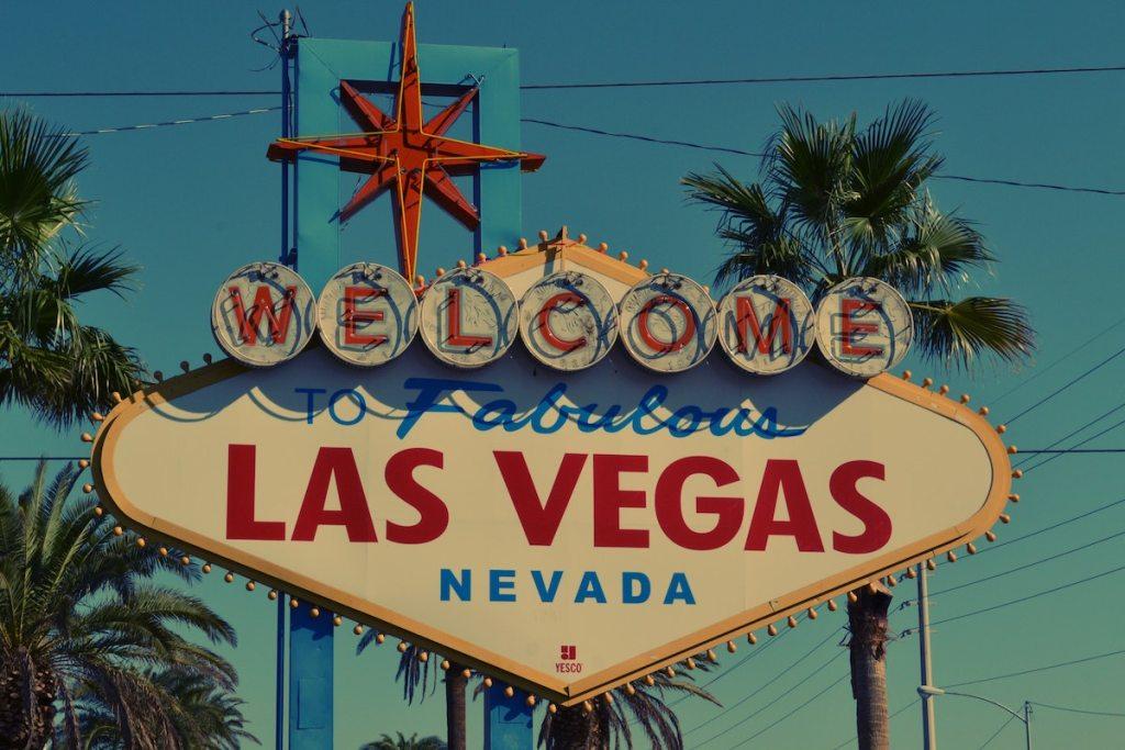 "The iconic ""Welcome to Fabulous Las Vegas"" sign locatedon the Las Vegas Strip."