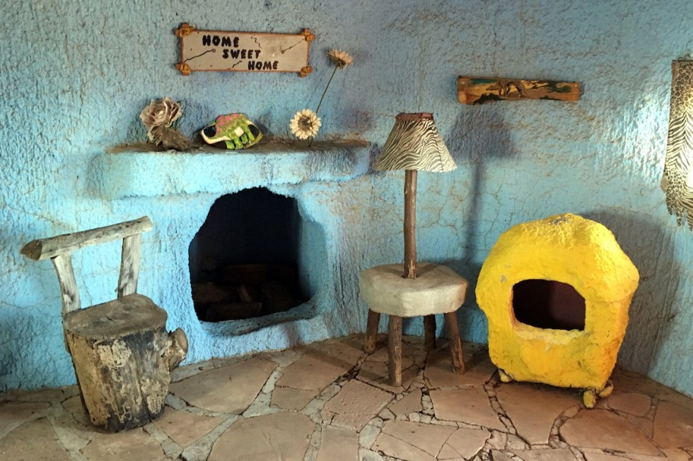 Barney's house, Flintstones Bedrock City, Arizona.