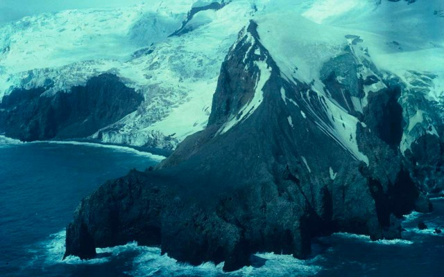 Bouvet Island, a Norwegian uninhabited island in the South Atlantic Ocean.