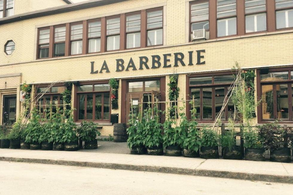 La Barberie in Québec City, Canada.