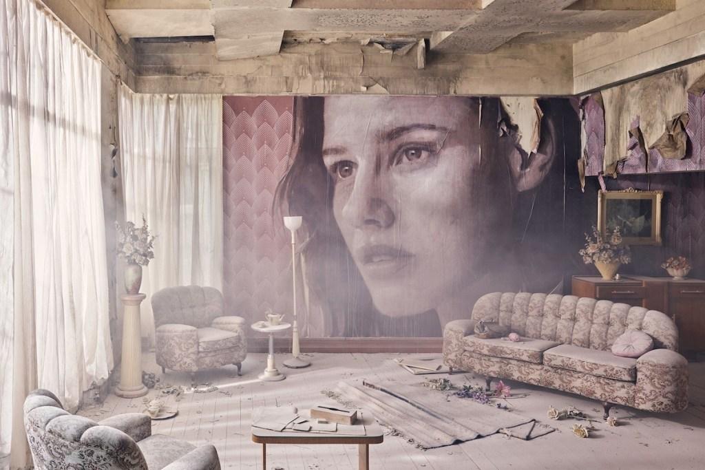 Empire art installation created by Melbourne artist Rone.