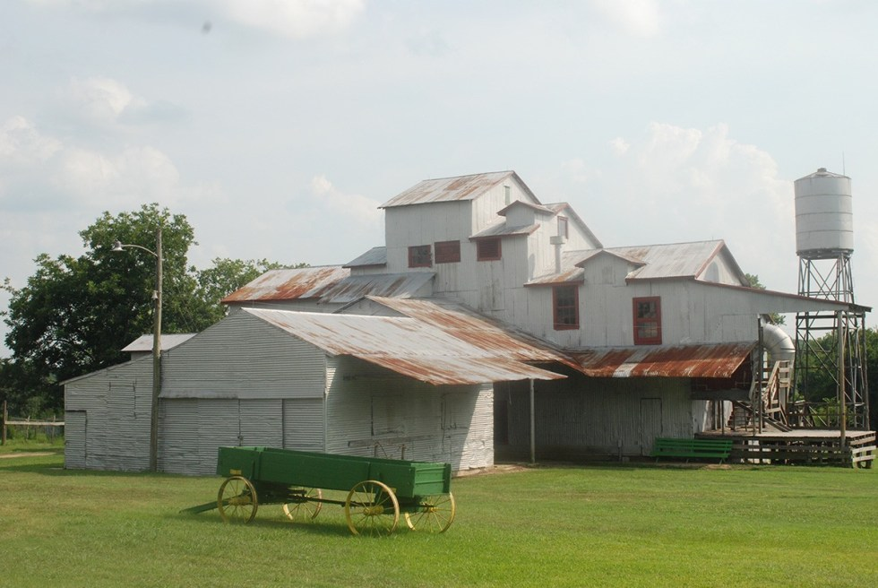 Texas Cotton Gin Museum in Brenham, Texas.