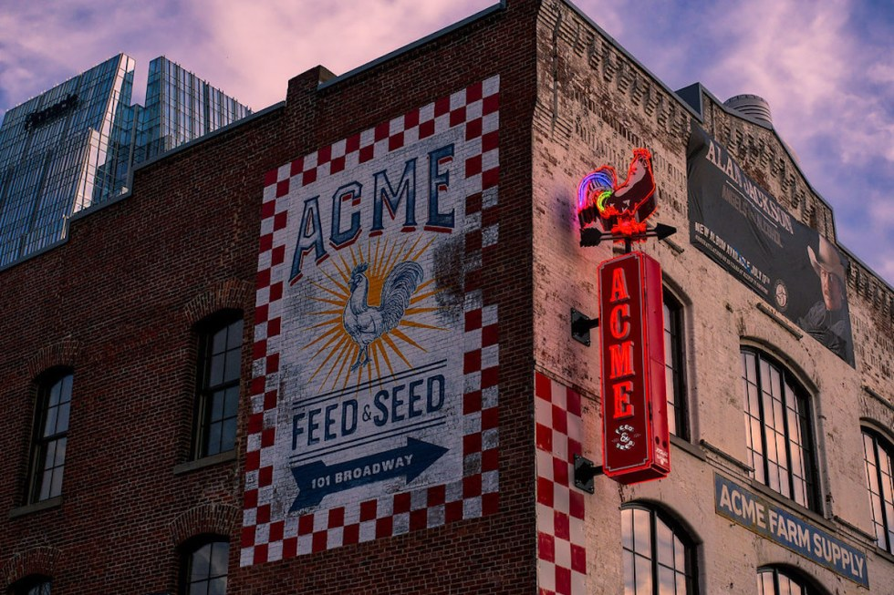 Acme Feed & Seed in Nashville, Tennessee.