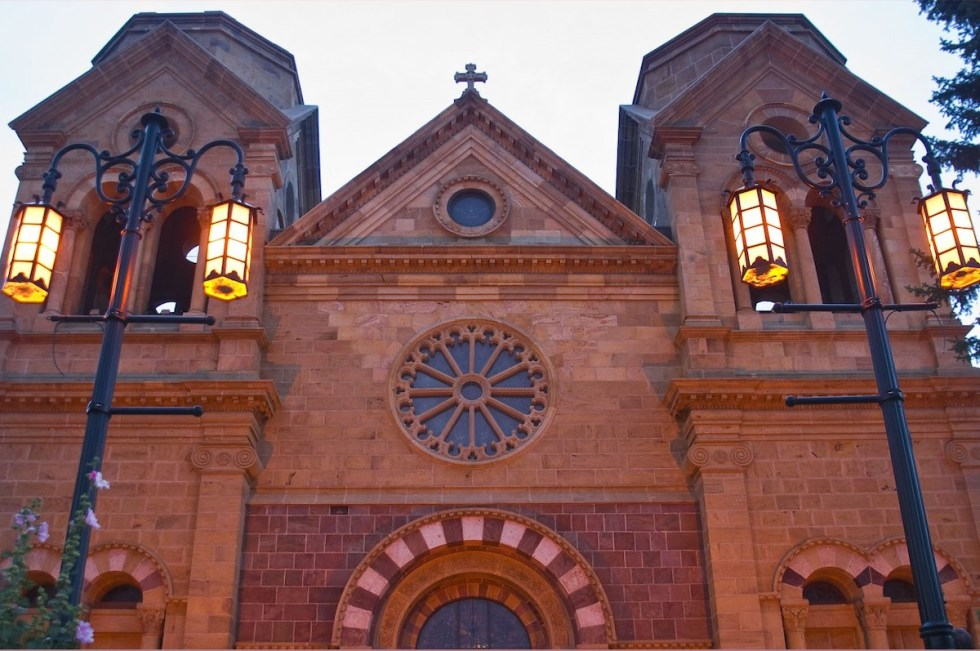 Cathedral Basilica of St. Francis of Assisi in Santa Fe, New Mexico