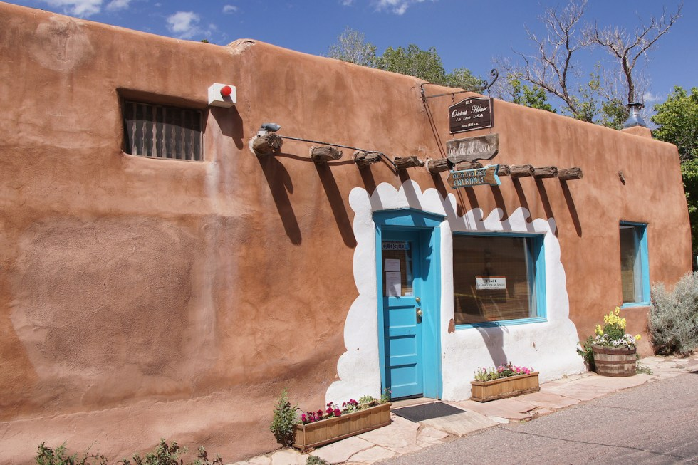 La Casa Vieja de Analco in Santa Fe, New Mexico