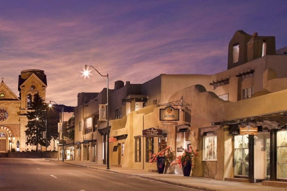 La Fonda on the Plaza in Santa Fe, New Mexico