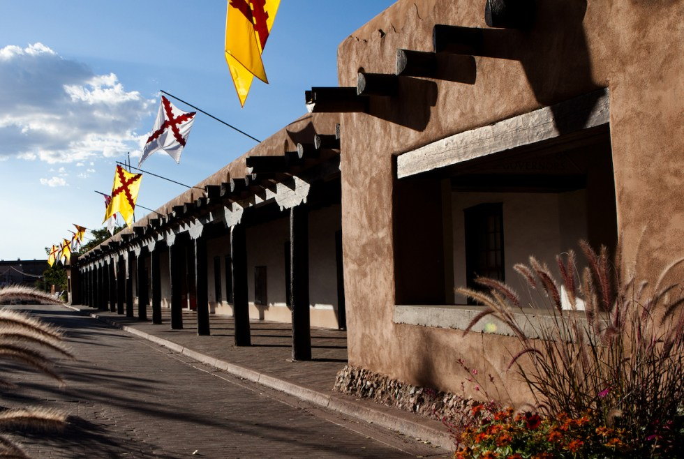 Palace of the Governors in Santa Fe, New Mexico