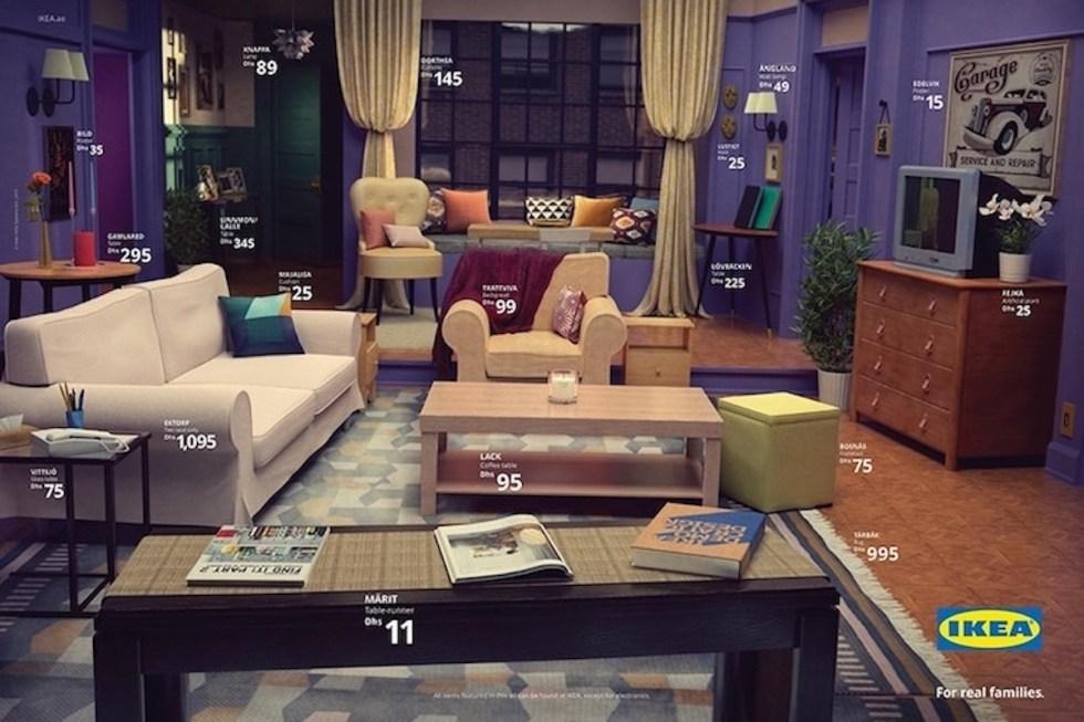 The Friends IKEA Living Room