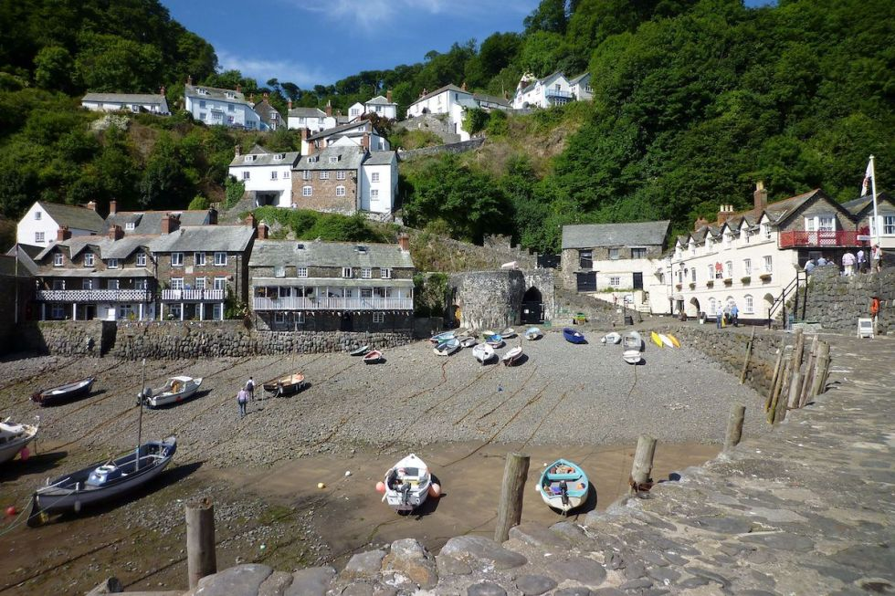 Lower part of Clovelly Village