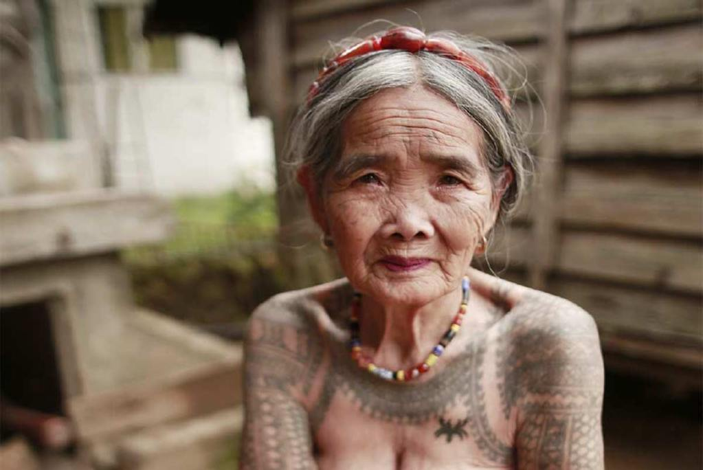 102-year-old tattoo artist Whang-od.