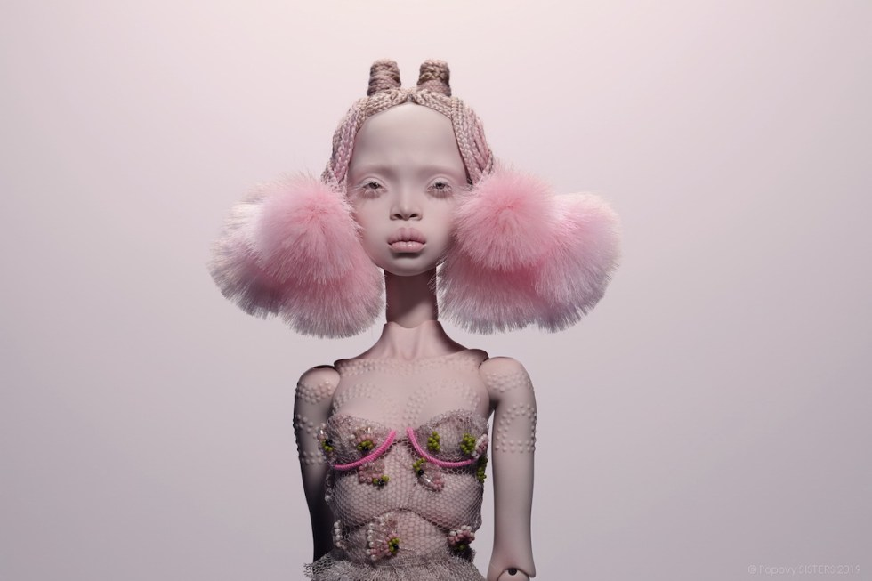 Popovy Sisters fine art doll