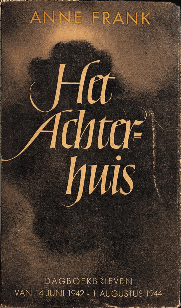"""First print of Anne Frank's """"Het Achterhuis"""" in 1947"""