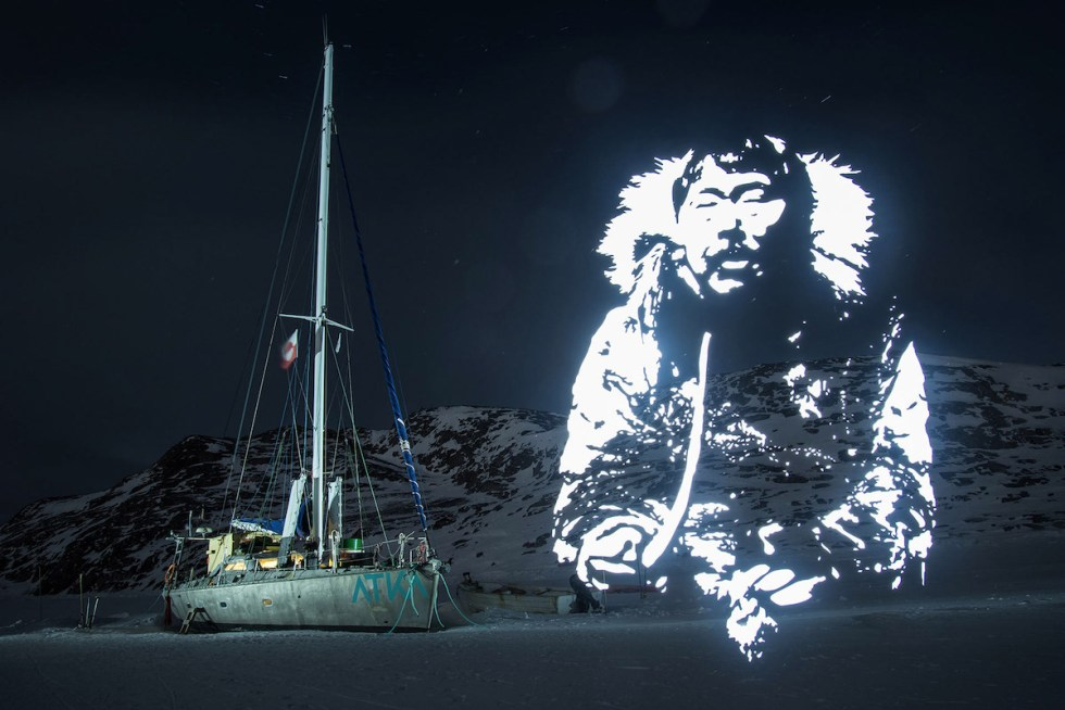 """Atka & The Old Smoking Man,"" part of Fabrice Wittner's ecologically conscious project ""The Northern Lights"""