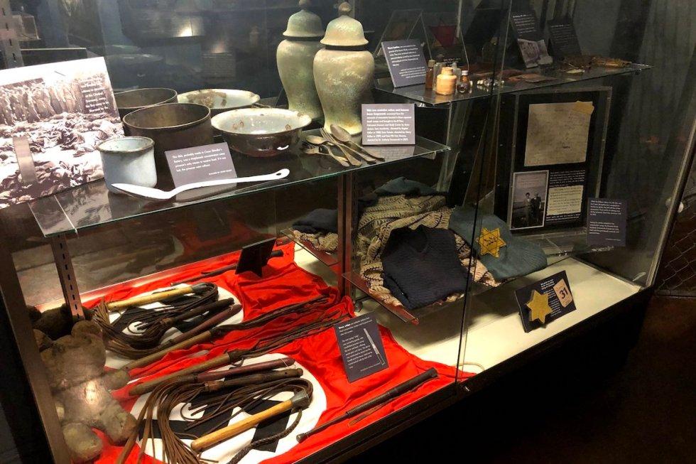 El Paso Holocaust Museum and Study Center exhibit details