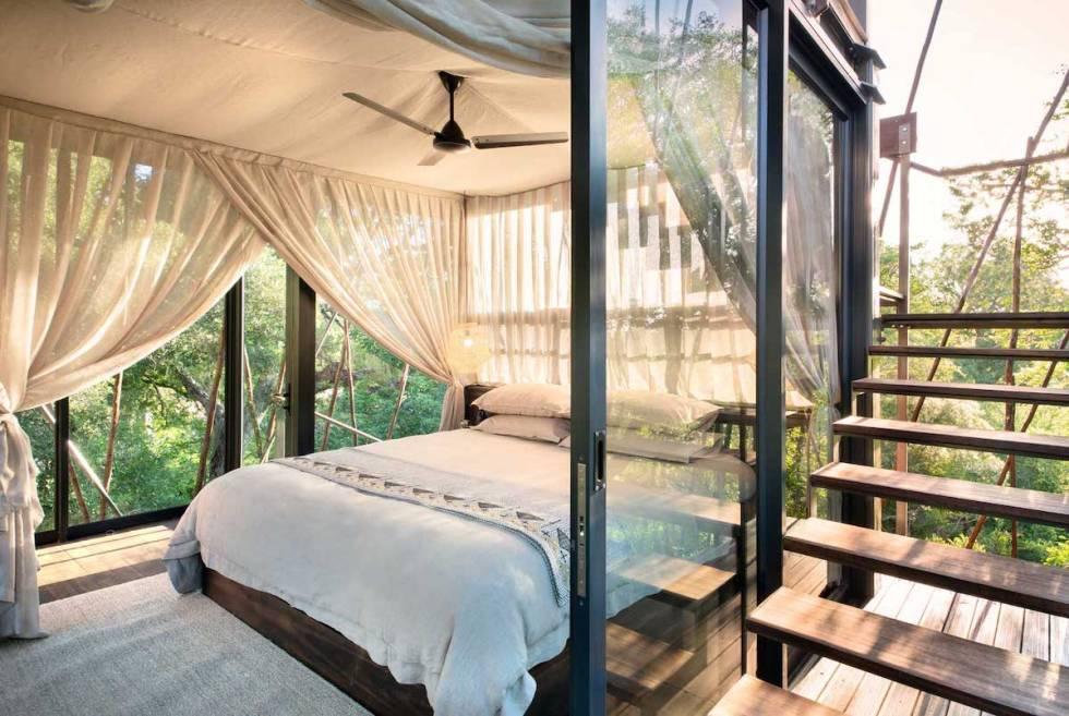 Ngala Treehouse bedroom