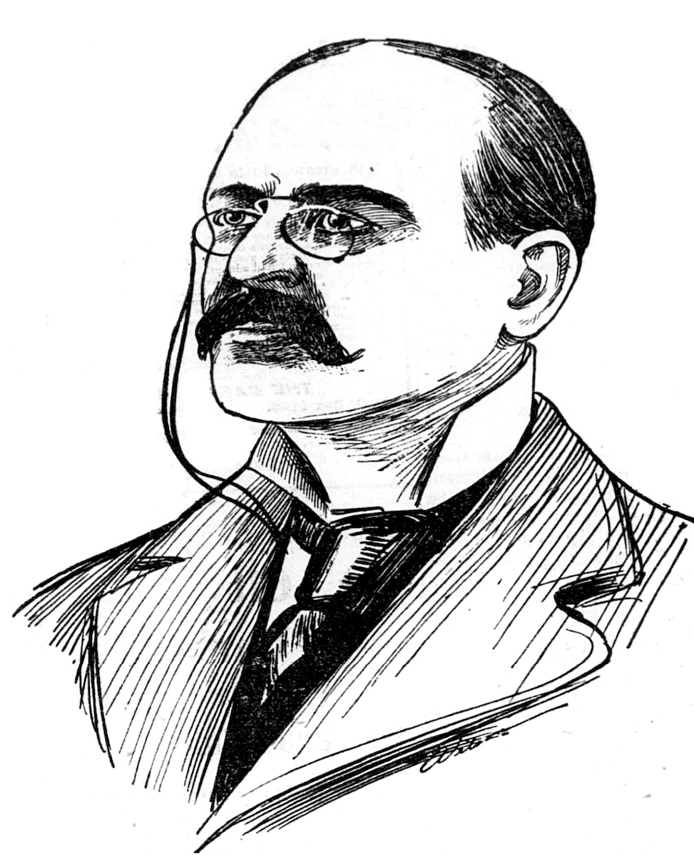 Whitaker Wright drawing