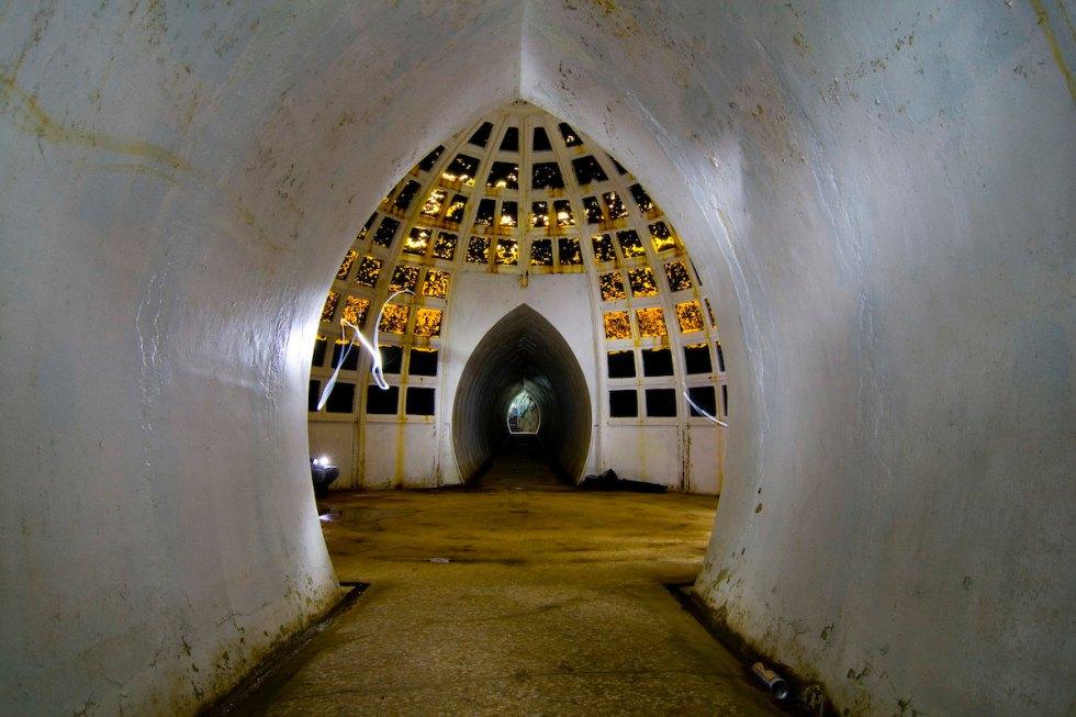 Witley Park underwater ballroom