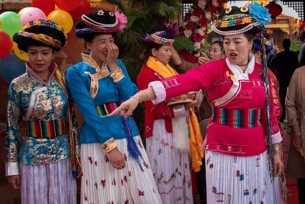 Mosuo women in Yunnan, China