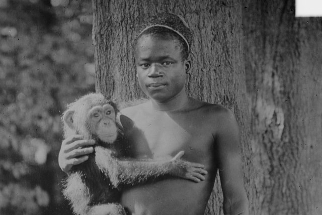Ota Benga at the Bronx Zoo