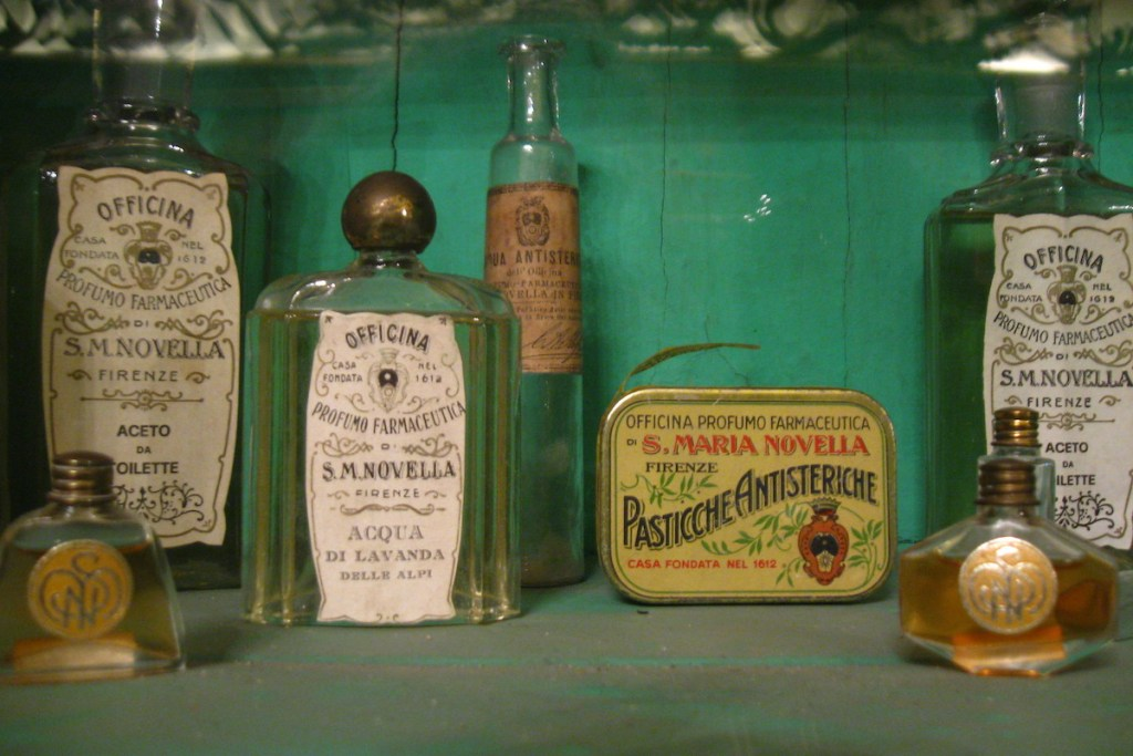 Santa Maria Novella Pharmacy products in their original composition