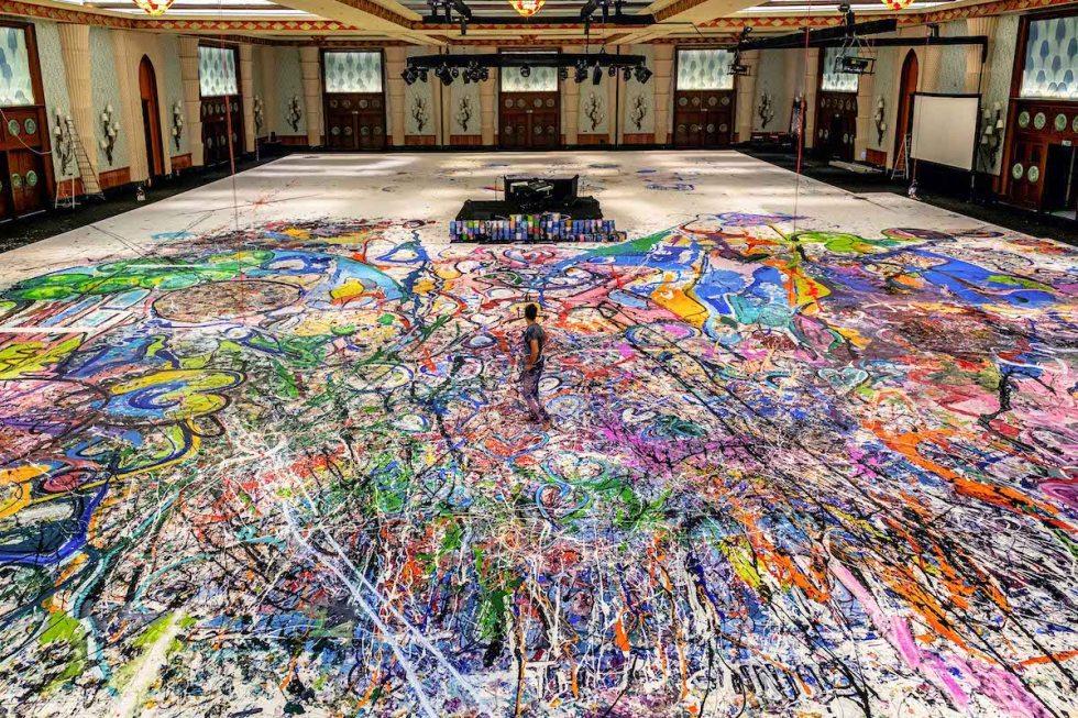Sacha Jafri World's Largest Canvas