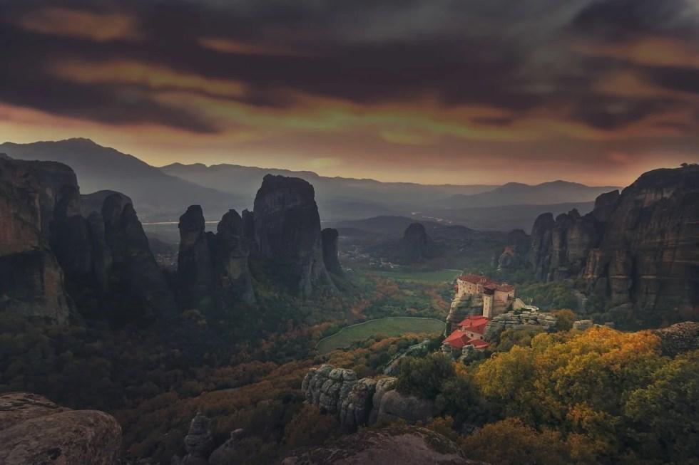 Meteora UNESCO World Heritage Site copy