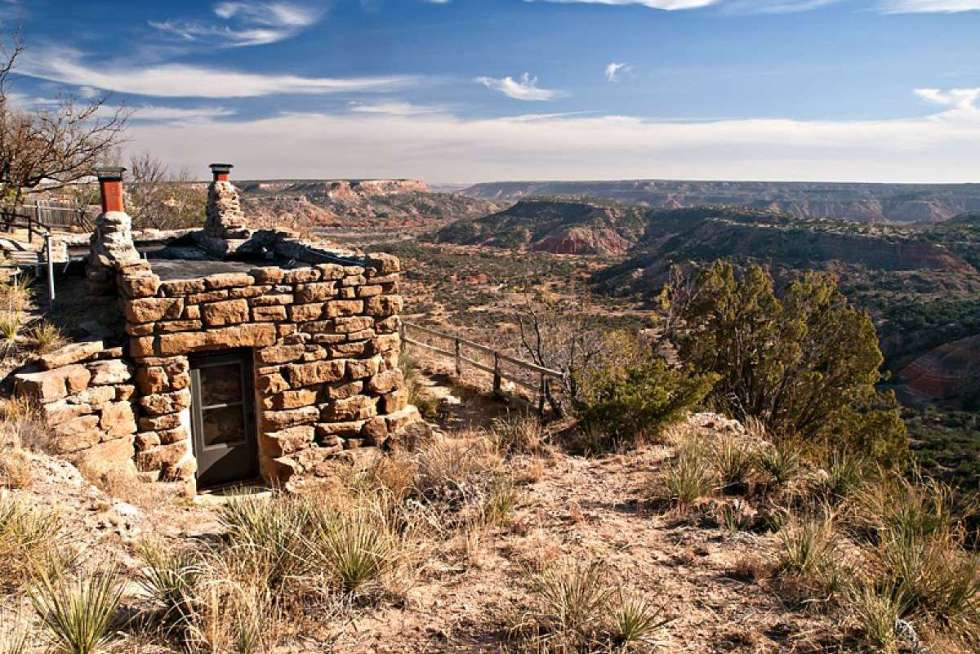 The Goodnight Cabin Palo Duro Canyon State Park TX