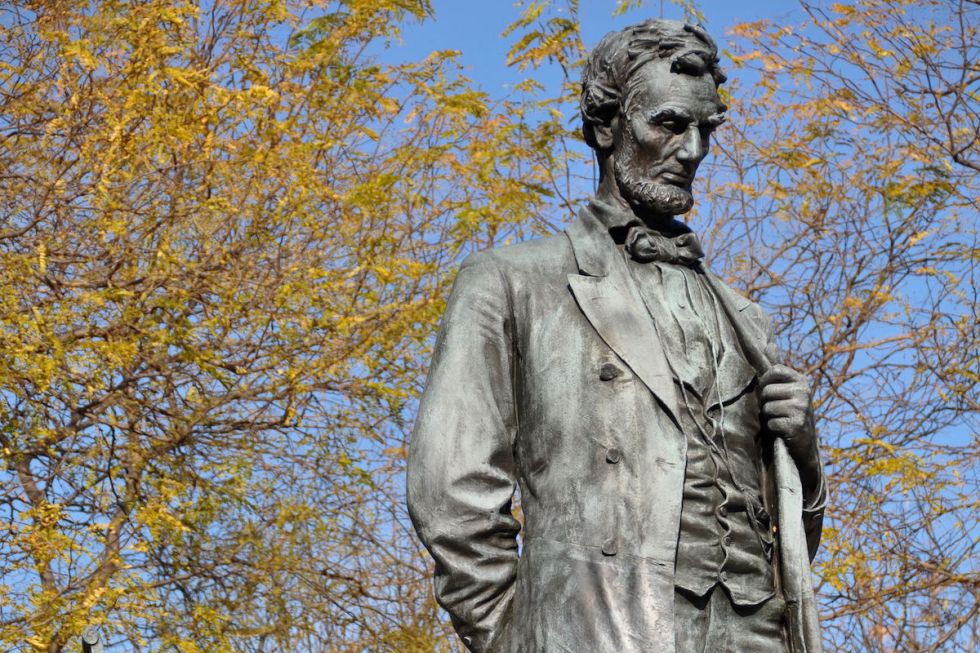 Abraham Lincoln - The Man Lincoln Park Chicago