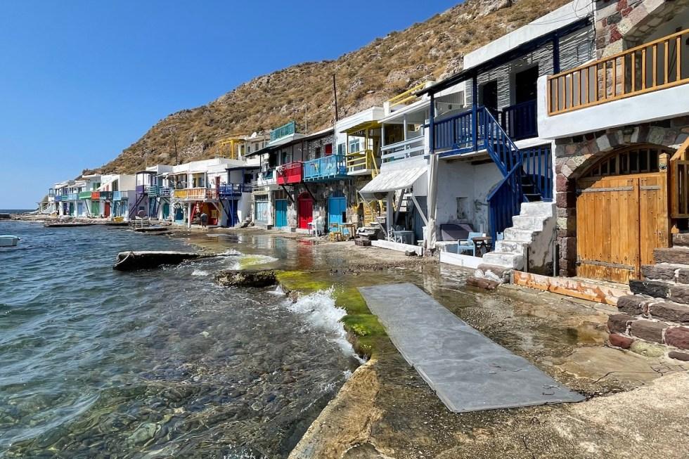 Klima Fishing Village Milos Greece