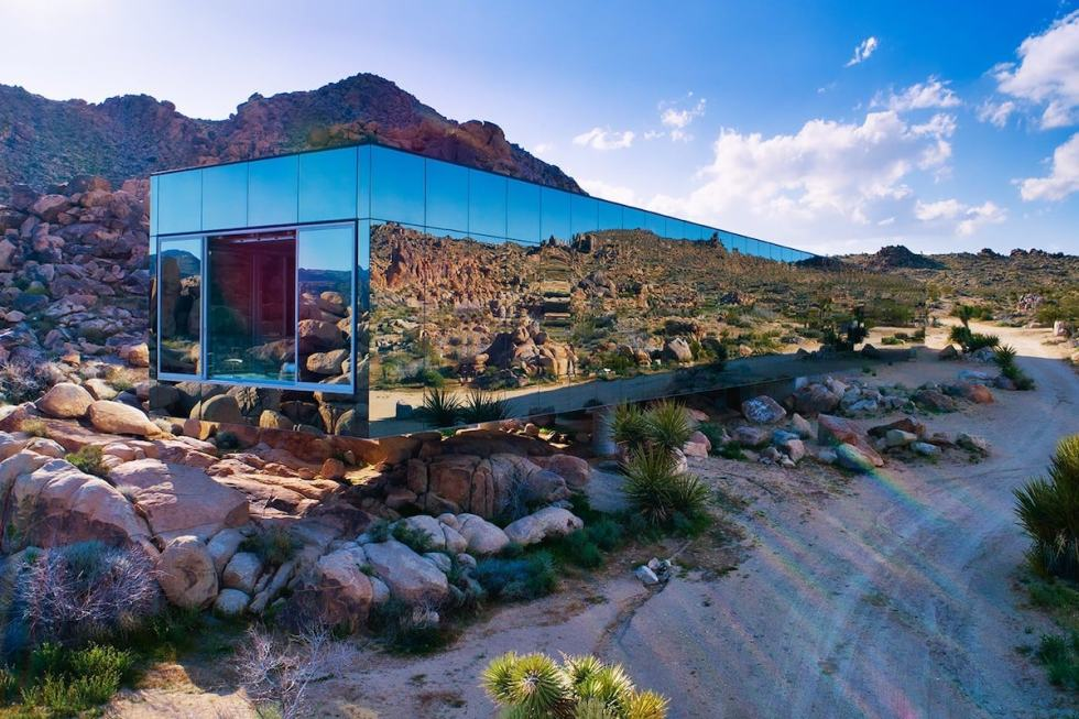 Invisible House airbnb Joshua Tree California