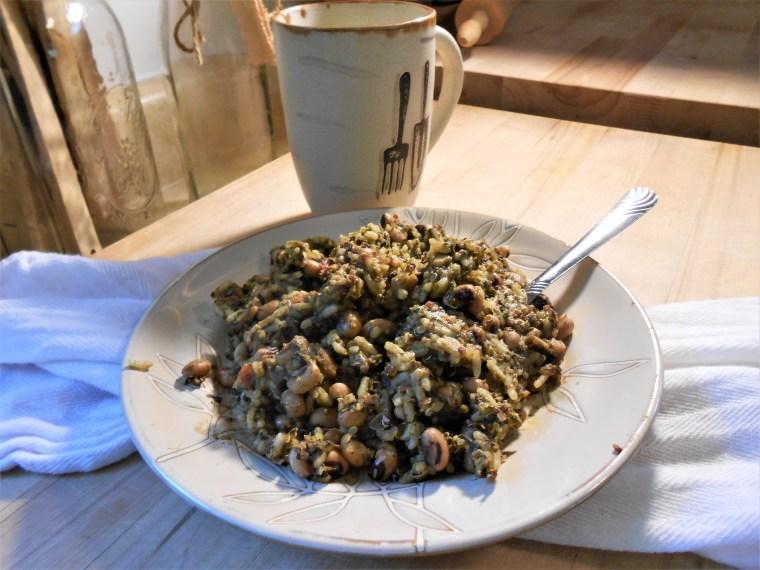 beans, quinoa, black-eyed peas, rice