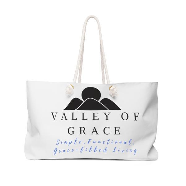 Valley of Grace weekender bag