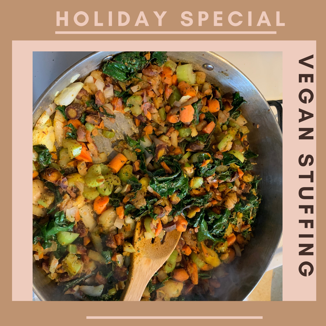 vegan stuffing, healthy living, healthy eating, holiday stuffing, katina horton, food photography, purple kale, red kale, organic, simple functional grace-filled living