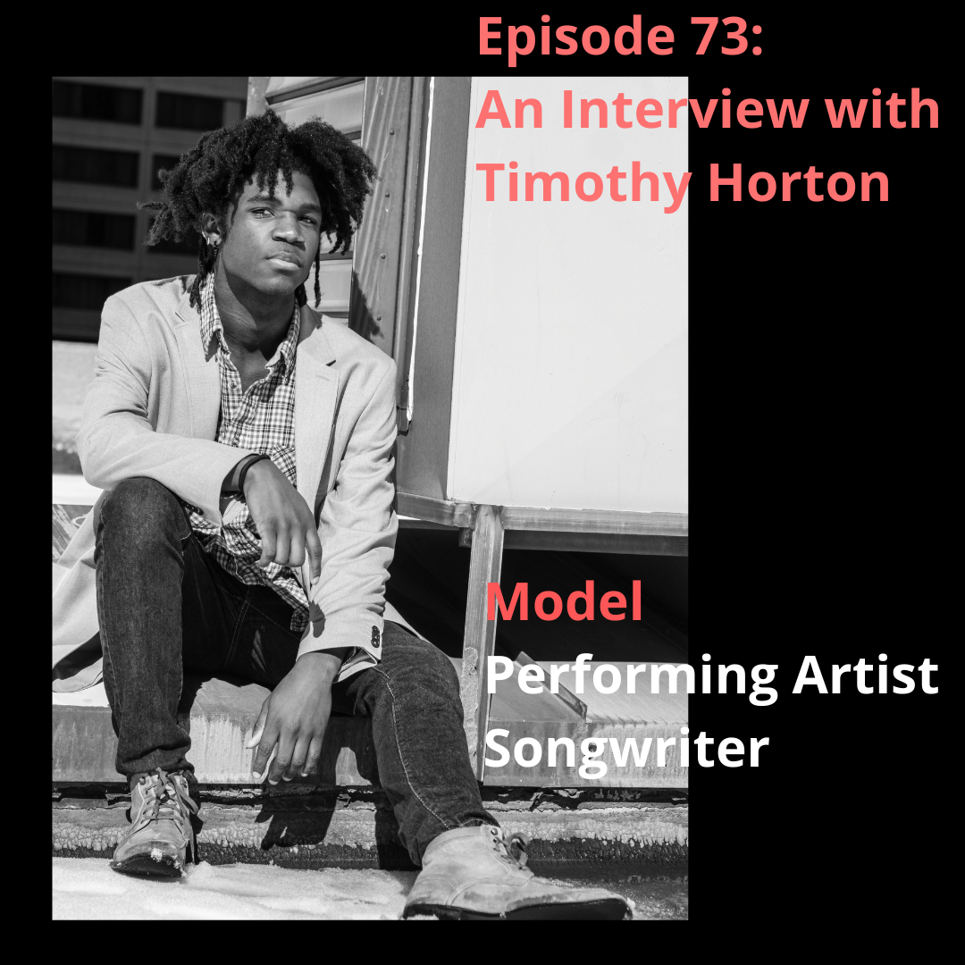 timothy horton, music, careers, songwriting, brokenness, podcasting, blogging, episode 73, podcaster, homeschooling, homeschooled, foreign languages, blackness, childhood, consistency, soul food, home, relationships, psychology, emotional health, mental health