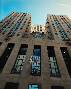 Wayne Enterprises. Er... I mean the Chicago Board of Trade. Ironically for Batman Begins Gotham architecturally was represented by #Chicago. #batmanbegins #wayneenterprises #geekingout #comics #comic