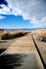 Walkway to Mono Lake
