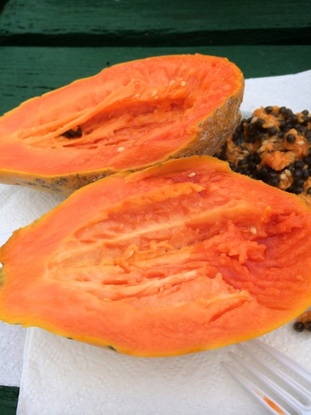 Ripe papaya is like nectar plucked from the heavens.