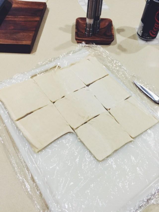 Jam Brie Tartlets
