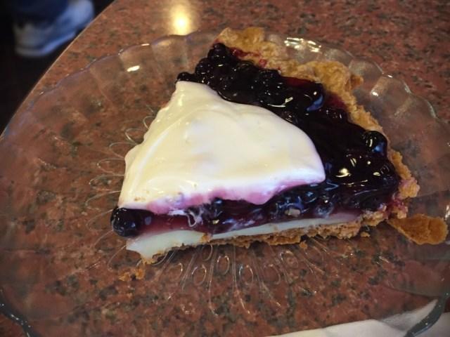 Heidi's Pies - Blueberry Custard Sour Cream