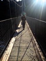 Suspension bridge, still afraid of heights
