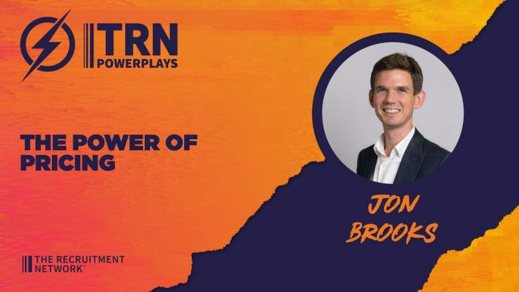 The Power of Pricing with Jon Brooks as part of TRN Powerplays