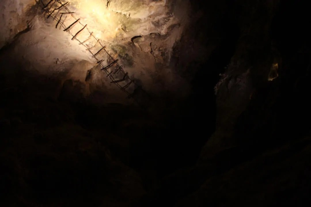 The depths of the Carlsbad Caverns