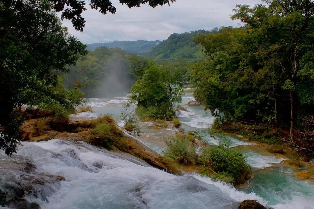 One of Chiapas' best waterfalls